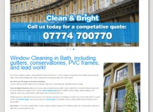 Clean and Bright Windows, Bath