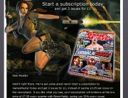 future publishing - lara croft email marketing