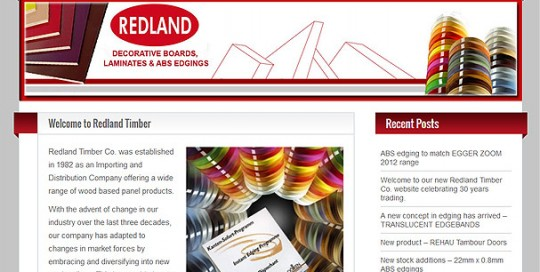 redland-timber - offering a wide range of wood based panel products.