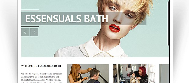 essensuals bath website