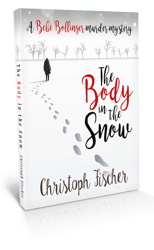 The body in the snow - book cover design