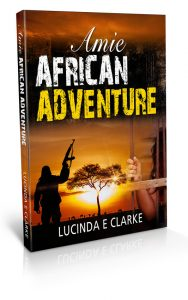 Amie - African Adventure Book cover design