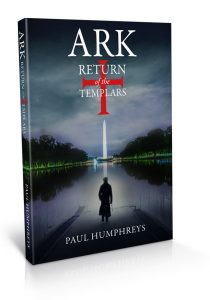 Ark Return of the Templars - book cover design