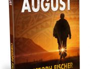 African August book cover design