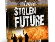 Amie stolen Future - book cover design